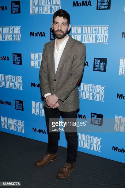 Director of the film Menashe Joshua Z Weinstein attends the New Directors/New Films 2017 Opening Night of PATTI CAKE$ presented by MoMA Film Society...