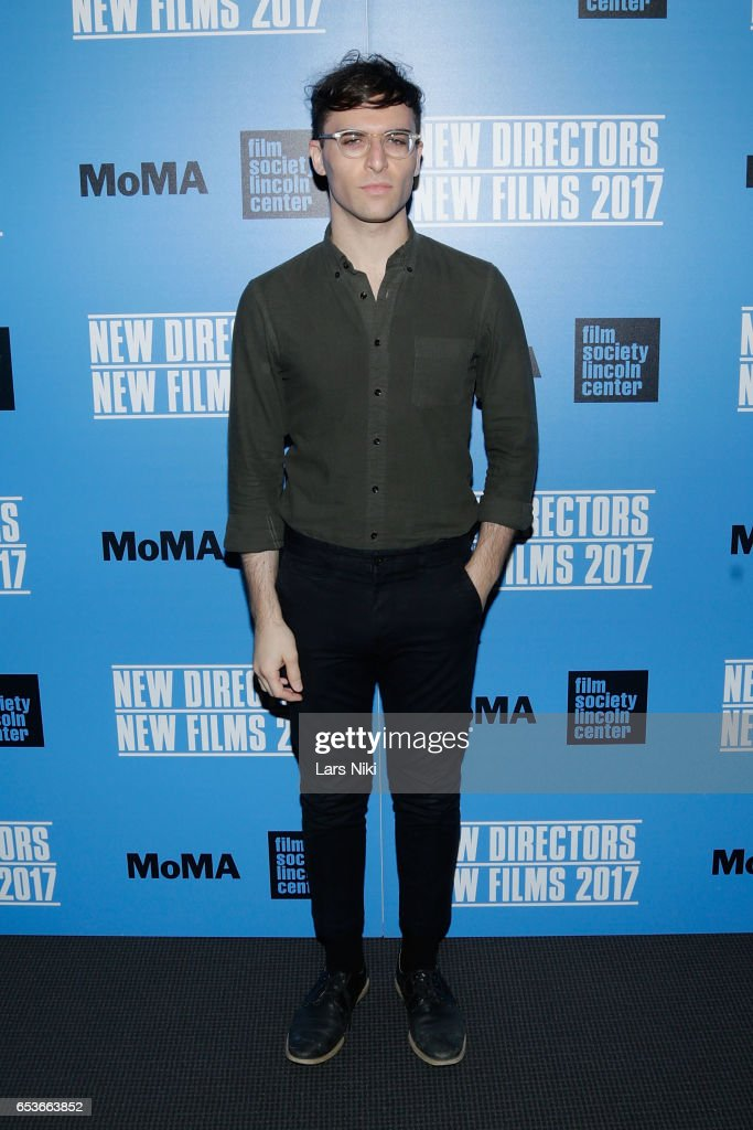 Director of the film Spiral Jetty, Ricky D'Ambrose attends the New Directors/New Films 2017 Opening Night of PATTI CAKE$ presented by MoMA & Film Society of Lincoln Center at MOMA on March 15, 2017 in New York City.
