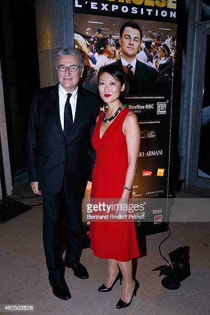 Director of the 'French Cinematheque' Serge Toubiana and French minister of Culture and Communication Fleur Pellerin attend the Tribute to Director...