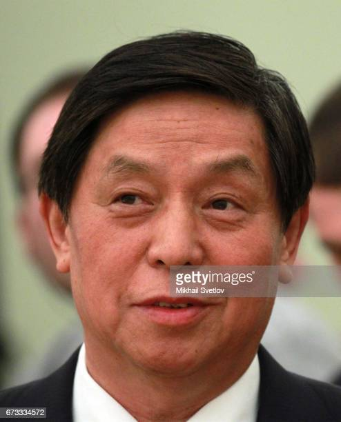 Director of the General Office of the Communist Party of China and Chief of the General Office of National Security Commission Li Zhanshu arrives at...