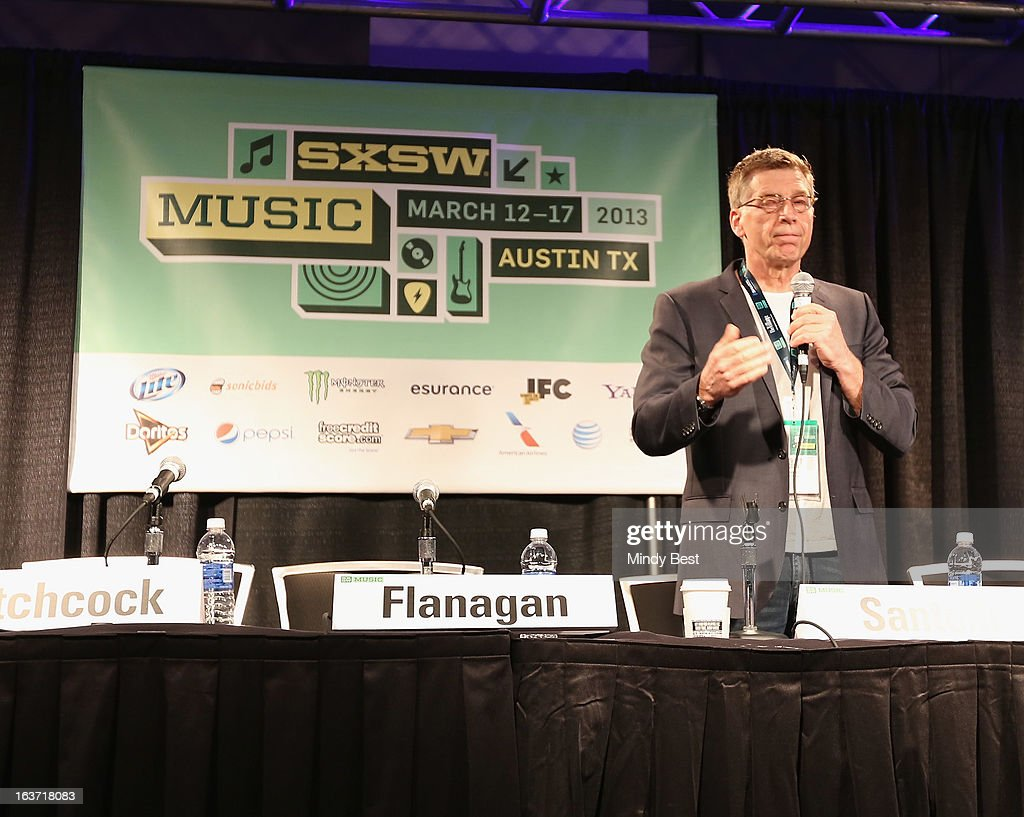 Director of The Grammy Museum Bob Santelli speaks onstage at 50 Years of the Beatles during the 2013 SXSW Music, Film + Interactive Festival at Austin Convention Center on March 14, 2013 in Austin, Texas.
