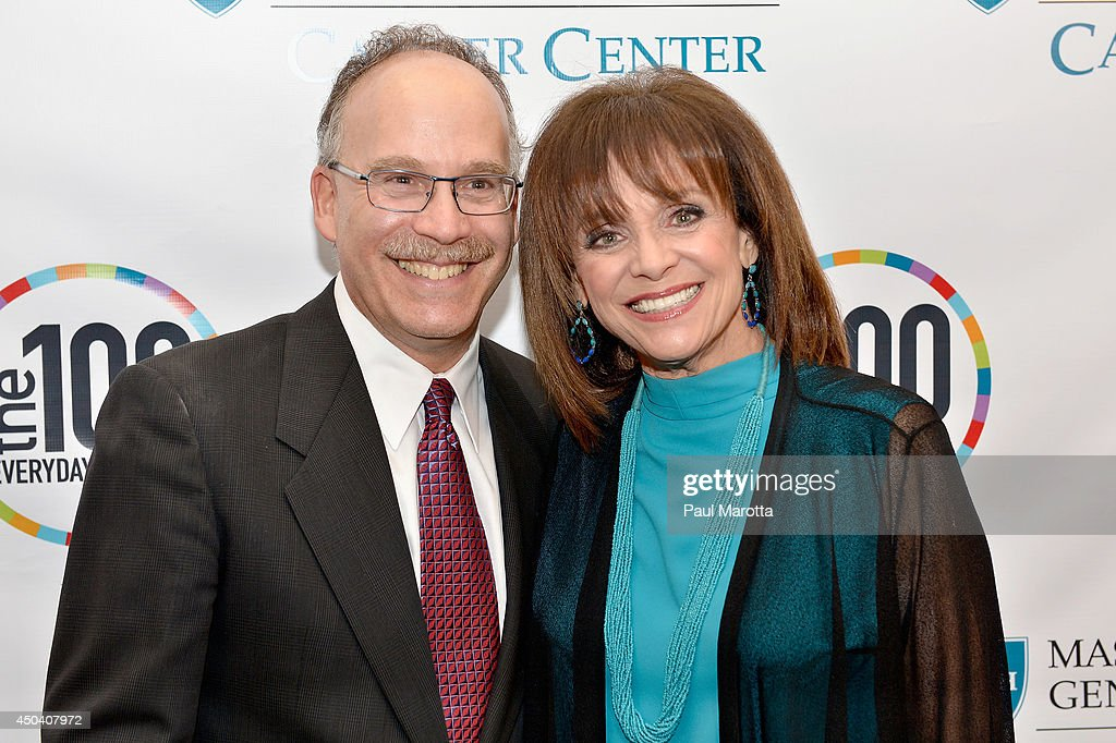 Director of the Massachusetts General Hostpital Cancer Center Dr. Daniel Haber and <a gi-track='captionPersonalityLinkClicked' href=/galleries/search?phrase=Valerie+Harper&family=editorial&specificpeople=206853 ng-click='$event.stopPropagation()'>Valerie Harper</a> attend the Mass General Hospital Cancer Center's 7th annual 'the one hundred' Event at the Westin Boston Waterfront Hotel on June 10, 2014 in Boston, Massachusetts.