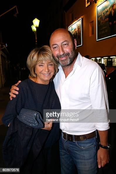 Director of the movie Daniele Thompson and actor kad Merad attend the 'Cezanne et Moi' Premiere Held at the Cinema 'Le Cezanne' on September 12 2016...