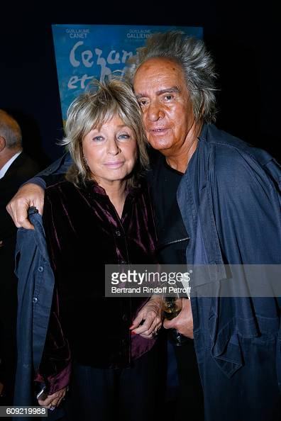 Director of the movie Daniele Thompson and her husband Producer of the movie Albert Koski attend the 'Cezanne et Moi' movie Premiere to Benefit...
