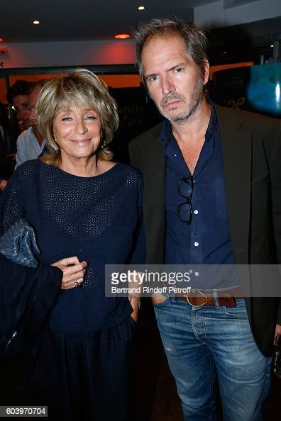 Director of the movie Daniele Thompson and her son Christopher Thompson attend the 'Cezanne et Moi' Premiere Held at the Cinema 'Le Cezanne' on...