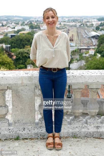 Director of the movie 'Otezmoi d'un doute' Carine Tardieu attends the 10th Angouleme FrenchSpeaking Film Festival Day Six on August 27 2017 in...