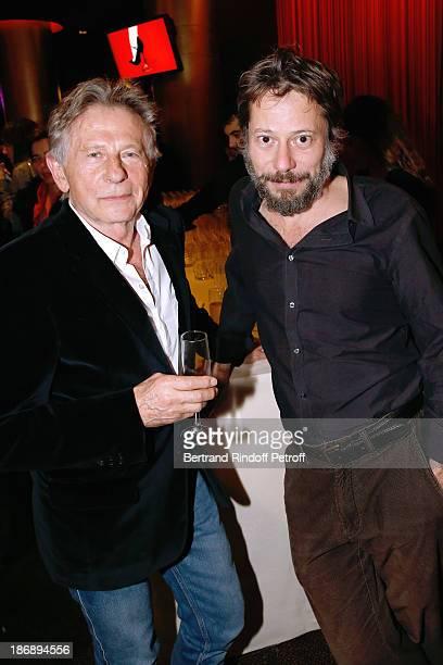 Director of the movie Roman Polanski and actor of the movie Mathieu Amalric attend 'La Venus a La Fourrure Venus in Fur' Premiere at Cinema Gaumont...