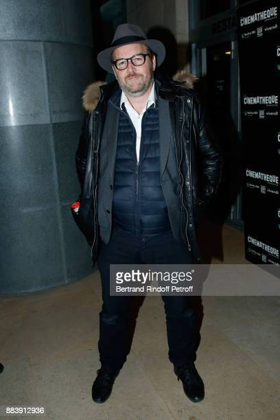 Director of the movie Xavier Beauvois attends the 'Les Gardiennes' Paris Premiere at la cinematheque on December 1 2017 in Paris France
