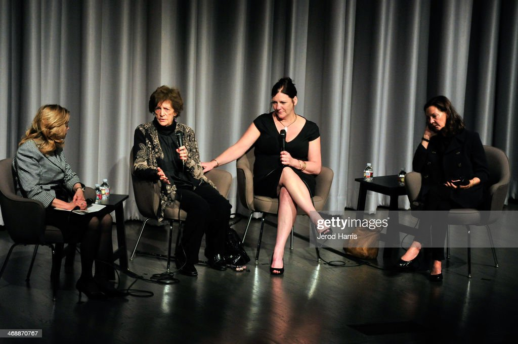 Director of the Museum of Tolerance Liebe Geft, Philomena Lee, Jane Libberton and producer Gabrielle Tana attend a special screening of 'Philomena' and conversation with Philomena Lee at the Museum Of Tolerance on February 11, 2014 in Los Angeles, California.