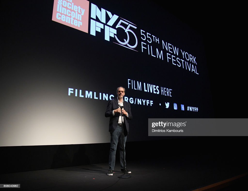 Director of the New York Film Festival Kent Jones speaks onstage during 55th New York Film Festival screening of 'Spielberg' at Alice Tully Hall on October 5, 2017 in New York City.