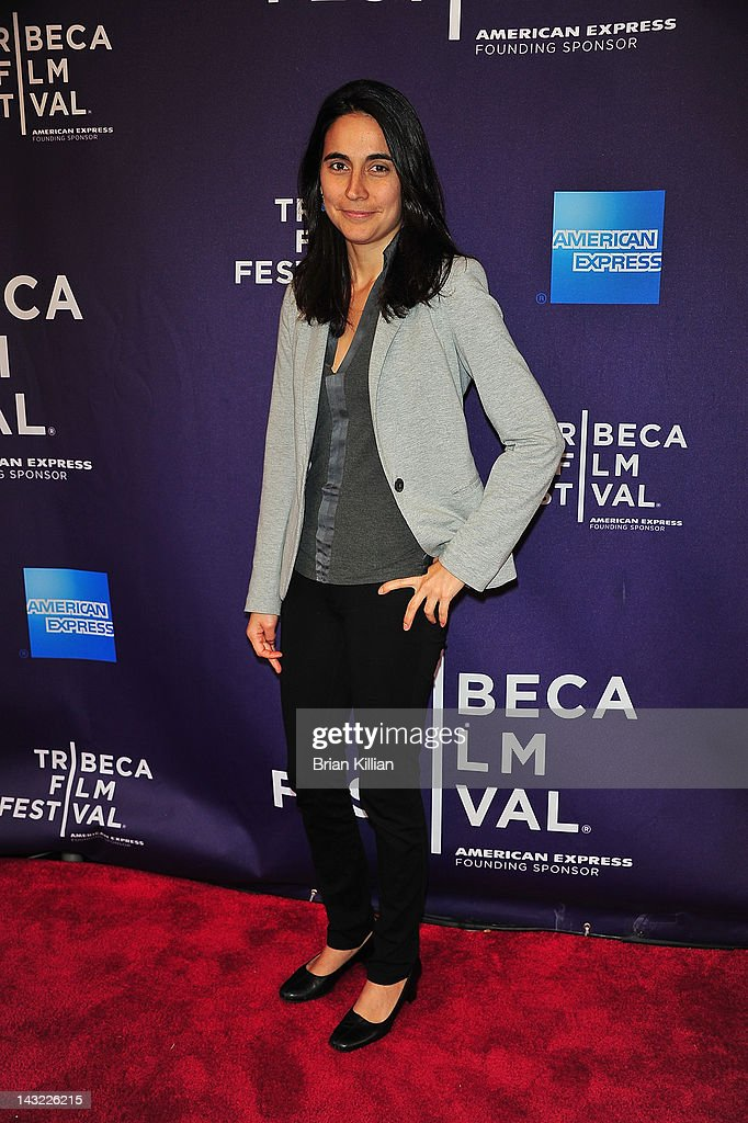 Director of the short My Neighborhood, Julia Bacha, attends Shorts Program: Help Wanted during the 2012 Tribeca Film Festival at the AMC Loews Village 7 on April 21, 2012 in New York City.