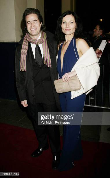 Director of the show Rupert Goold and Kate Fleetwood arriving for the first night of the musical 'Oliver' at the Theatre Royal in Drury Lane central...