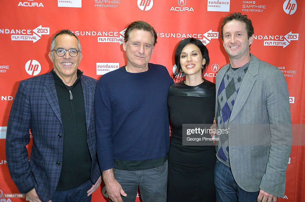 Director of the Sundance Film Festival John Cooper, actor Bill Pullman, director Cherien Dabis and Sundance Film Festival Director of Programming Trevor Groth attend the 'May In The Summer' premiere during the 2013 Sundance Film Festival at Eccles Center Theatre on January 17, 2013 in Park City, Utah.