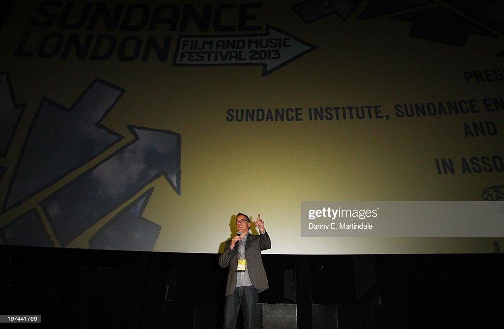 Director of the Sundance Film Festival John Cooper speaks at the'The Look Of Love' screening during the Sundance London Film and Music Festival 2013...
