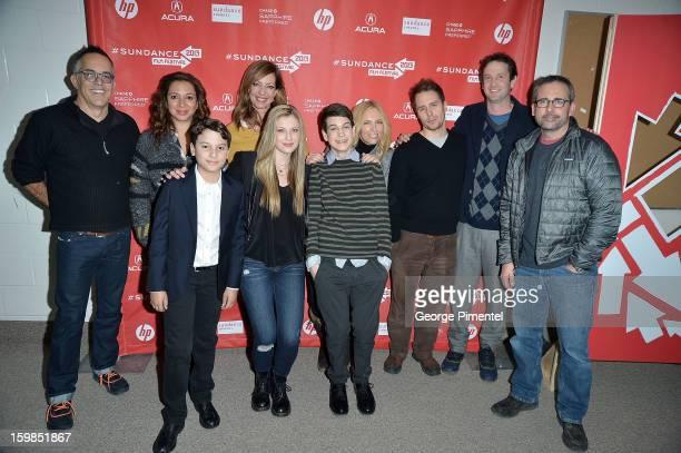 Director of the Sundance Film Festival John Cooper with cast members Maya Rudolph River Alexander Allison Janney Zoe Levin Liam James Toni Collette...
