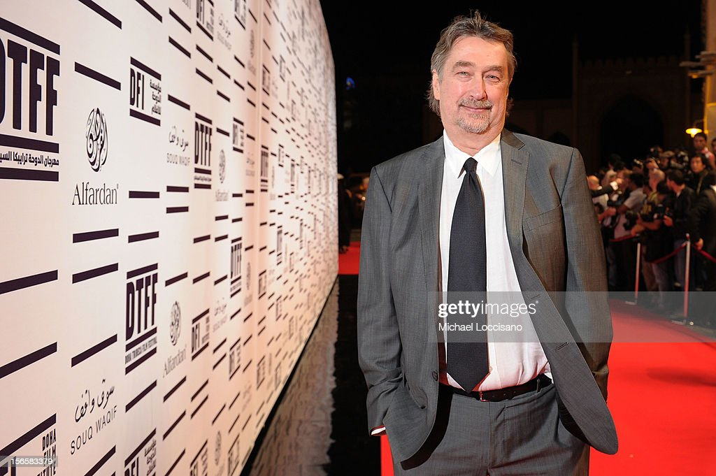 Director of the Tribeca Film Festival Geoffrey Gilmore attends the opening night ceremony and gala screening of 'The Reluctant Fundamentalist' during...