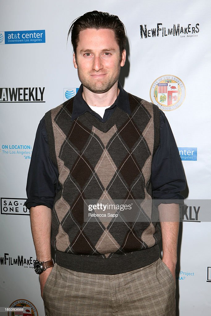 Director of 'Tribeca Urban' Jeremy Weiss arrives at the 3rd Annual On Location: The Los Angeles Video Project 2013 at the AT&T Center on October 19, 2013 in Los Angeles, California.
