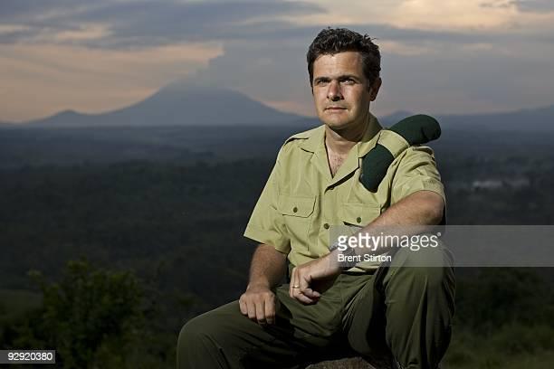 Director of Virunga National Park Emmanuel De Merode photographed at Rumangabo Ranger Headquarters North Kivu Democratic Republic of Congo on...