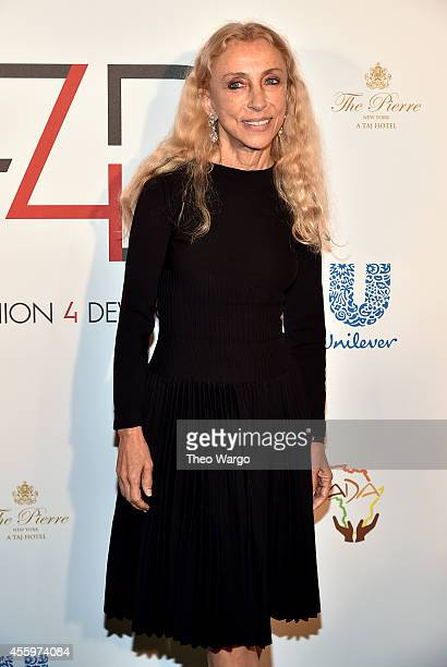 Director of Vogue Italia Franca Sozzani attends Fashion 4 Development 4th Annual Official First Ladies Luncheon at The Pierre Hotel on September 23...