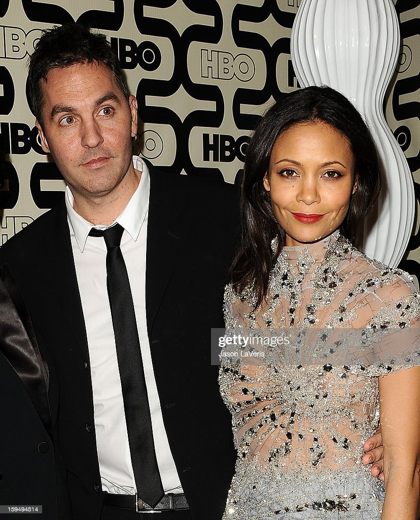 Director Ol Parker and actress Thandie Newton attend the HBO after party at the 70th annual Golden Globe Awards at Circa 55 restaurant at the Beverly Hilton Hotel on January 13, 2013 in Los Angeles, California.
