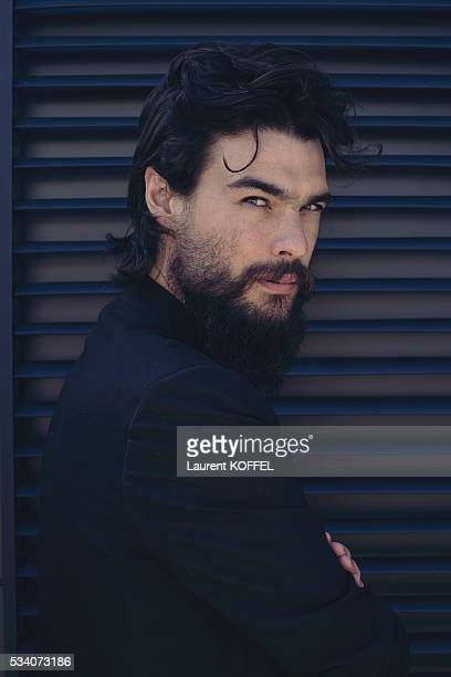 Director Oliver Laxe poses during a portrait session on May 16 2016 in Cannes France