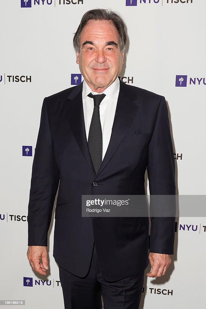 Director <a gi-track='captionPersonalityLinkClicked' href=/galleries/search?phrase=Oliver+Stone&family=editorial&specificpeople=173458 ng-click='$event.stopPropagation()'>Oliver Stone</a> attends NYU's Tisch School Of the Arts LA Gala at Regent Beverly Wilshire Hotel on October 28, 2013 in Beverly Hills, California.