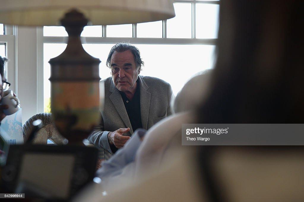 Director Oliver Stone attends the Mentors Brunch during the 2016 Nantucket Film Festival Day 4 on June 25, 2016 in Nantucket, Massachusetts.