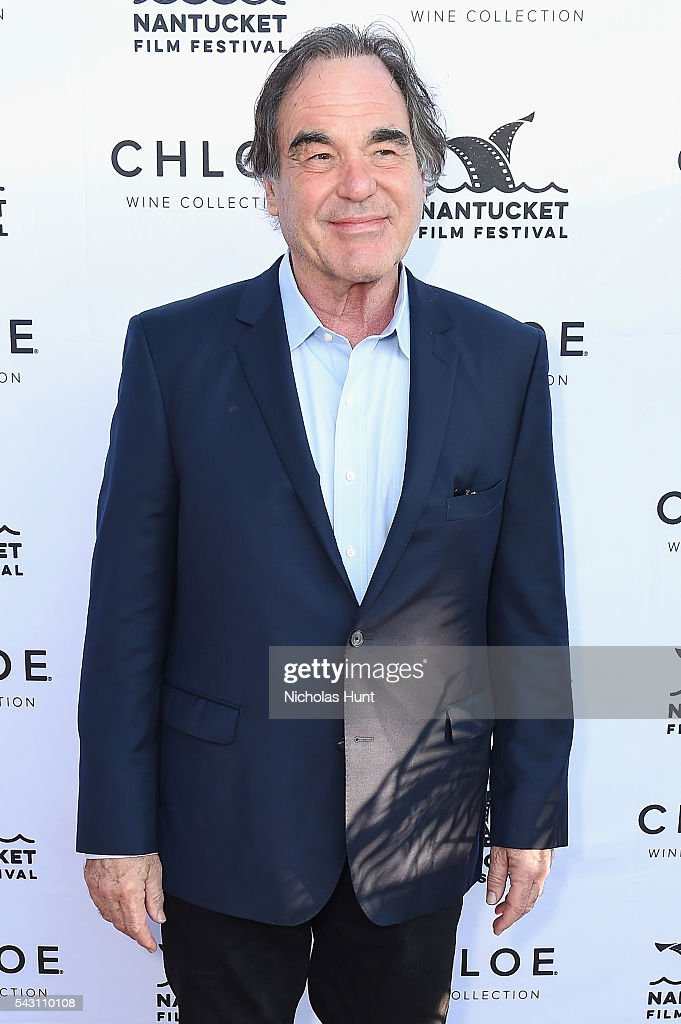 Director <a gi-track='captionPersonalityLinkClicked' href=/galleries/search?phrase=Oliver+Stone&family=editorial&specificpeople=173458 ng-click='$event.stopPropagation()'>Oliver Stone</a> attends the Screenwriters Tribute at the 2016 Nantucket Film Festival Day 4 on June 25, 2016 in Nantucket, Massachusetts.