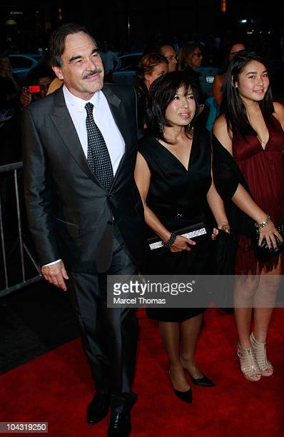Director Oliver Stone attends the 'Wall Street Money Never Sleeps' premiere at the Ziegfeld Theatre on September 20 2010 in New York City