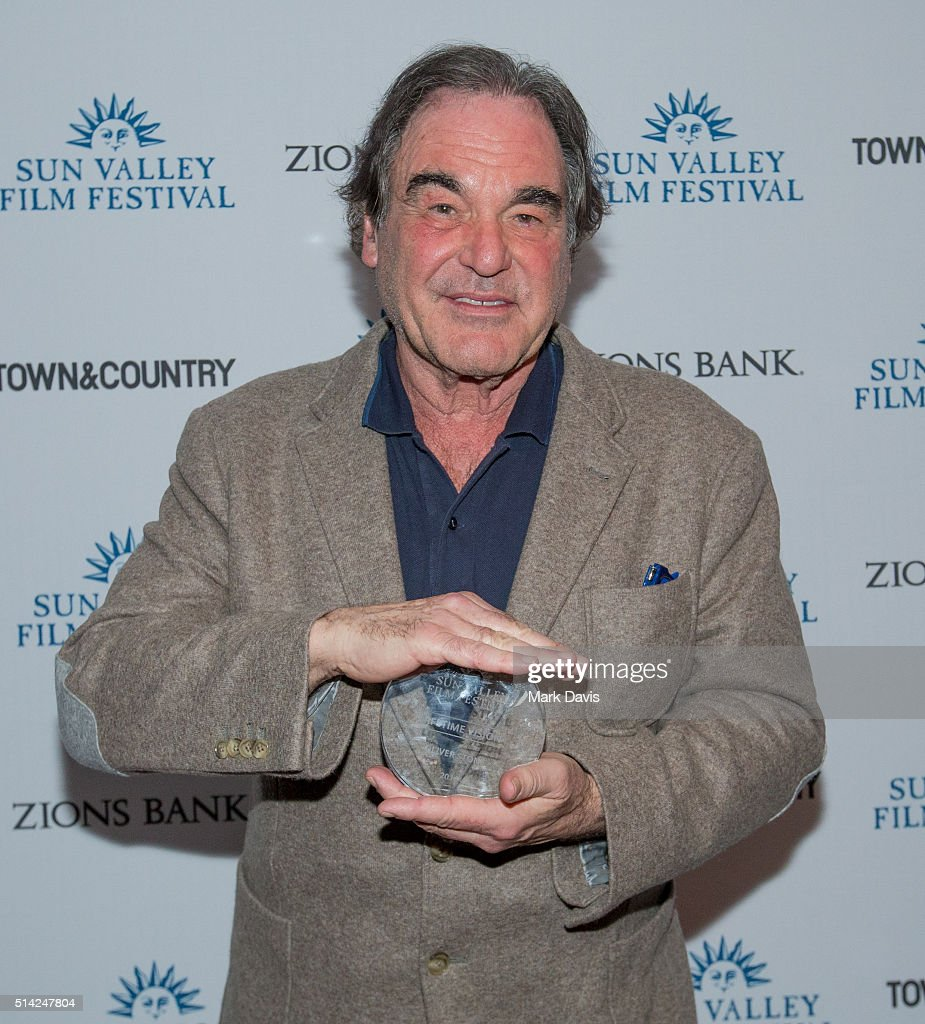 2016 Sun Valley Film Festival -  Vision Award Presentation to Oliver Stone