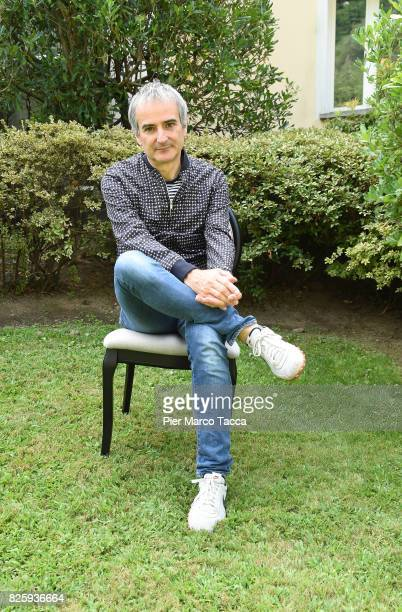 Director Olivier Assayas attends a photocall during the 70th Locarno Film Festival on August 3 2017 in Locarno Switzerland