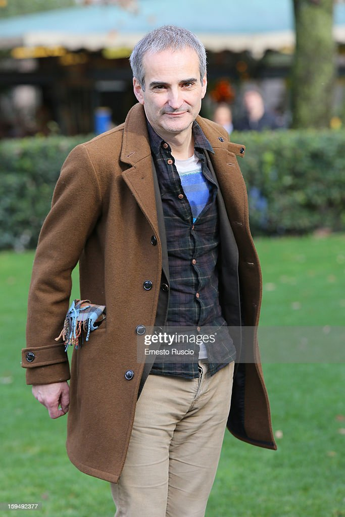 Director Olivier Assayas attends the 'Apres Mai' photocall at Casa del Cinema on January 14, 2013 in Rome, Italy.