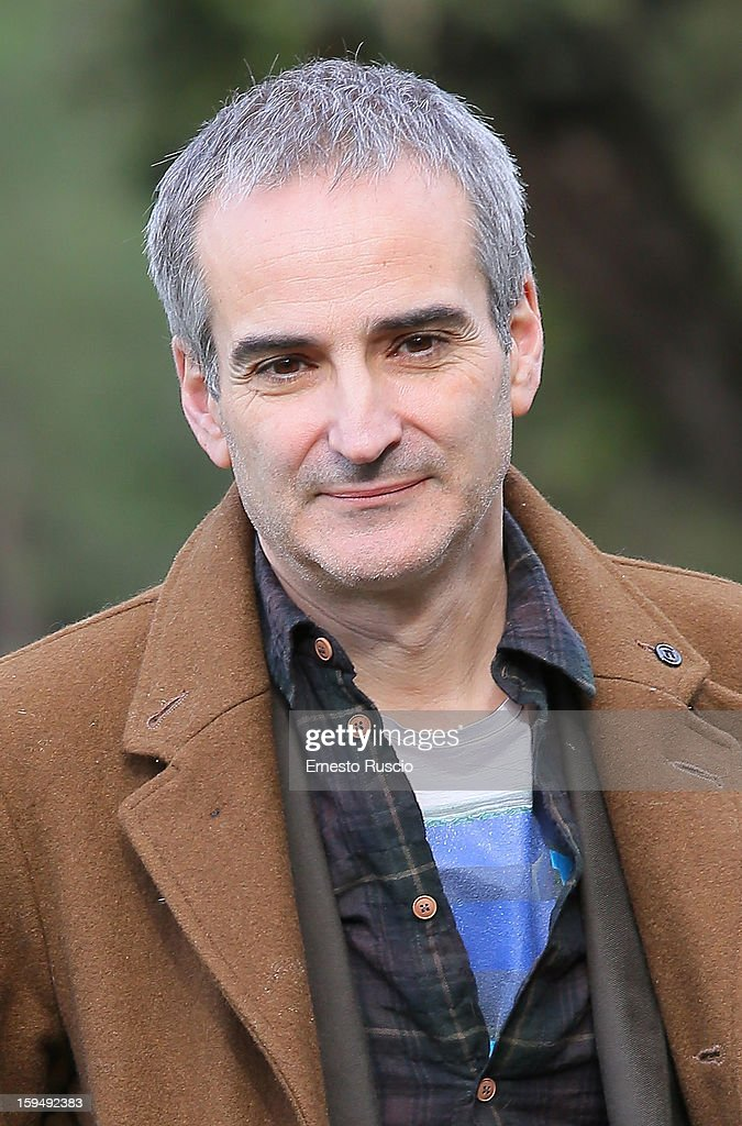Director <a gi-track='captionPersonalityLinkClicked' href=/galleries/search?phrase=Olivier+Assayas&family=editorial&specificpeople=240407 ng-click='$event.stopPropagation()'>Olivier Assayas</a> attends the 'Apres Mai' photocall at Casa del Cinema on January 14, 2013 in Rome, Italy.
