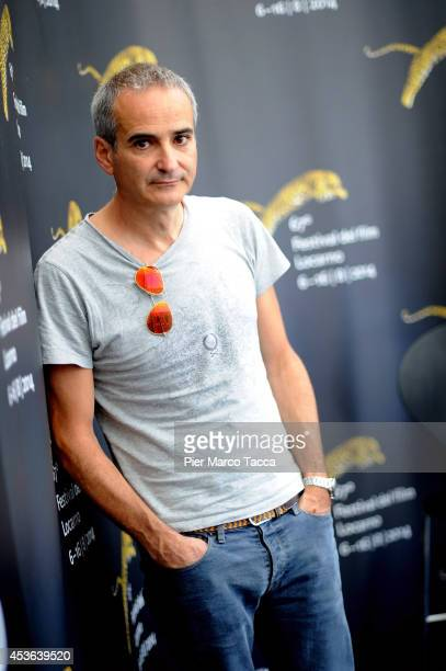 Director Olivier Assayas attends the 'Sils Maria' Photocall during the 67th Locarno Film Festival on August 15 2014 in Locarno Switzerland