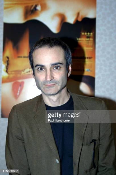 Director Olivier Assayas during 'Demonlover' Premiere New York at Gramercy Theatre in New York City New York United States