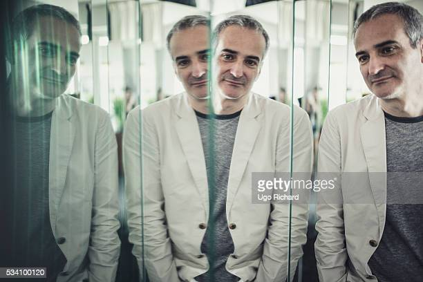 Director Olivier Assayas is photographed for Gala on May 15 2016 in Cannes France