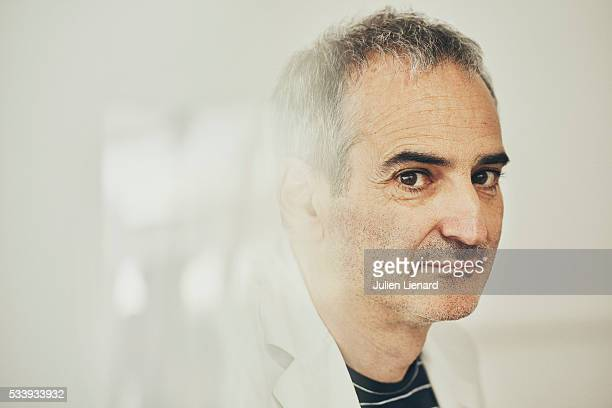 Director Olivier Assayas is photographed for Self Assignment on May 18 2016 in Cannes France