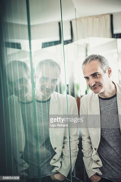 Director Olivier Assayas is photographed for Self Assignment on May 15 2016 in Cannes France
