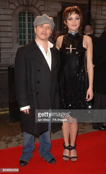 Director Olivier Dahan and actress Marion Cotillard arrive for the UK film premiere of La Vie En Rose at the Curzon Mayfair in central London