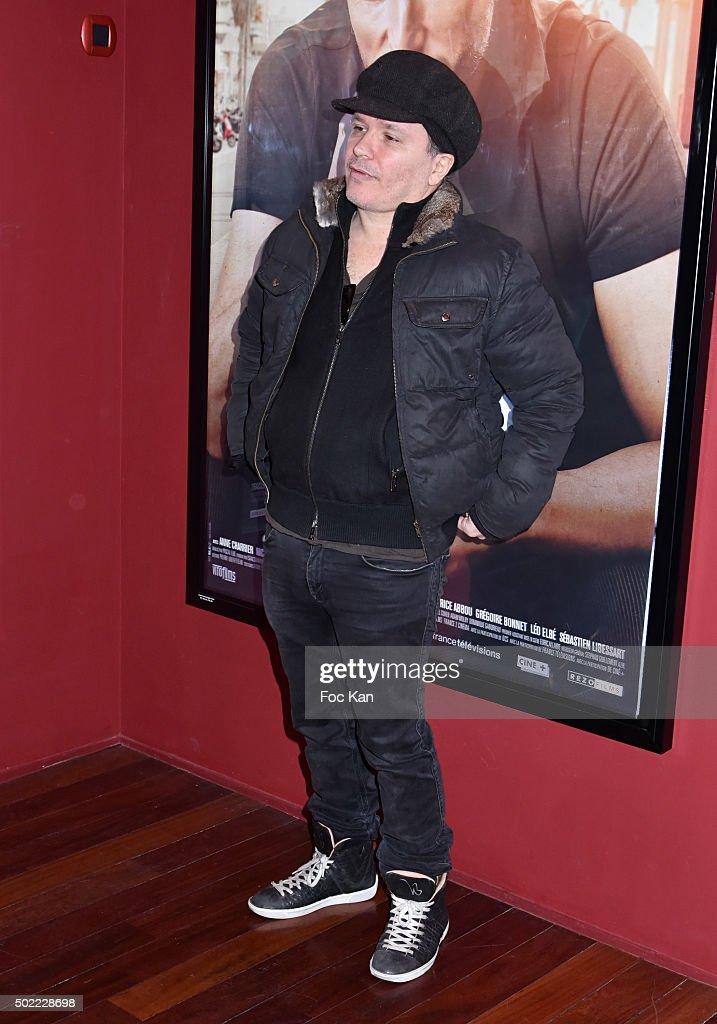 Director Olivier Dahan attends 'Je Compte Sur Vous' Premiere at Publicis Cinema on December 21 2015 in Paris France