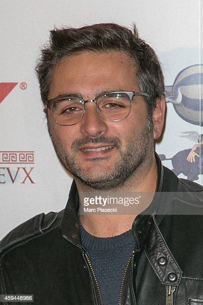 Director Olivier Nakache attends the 'Asterix Le Domaine des Dieux' Premiere at Le Grand Rex on November 23 2014 in Paris France