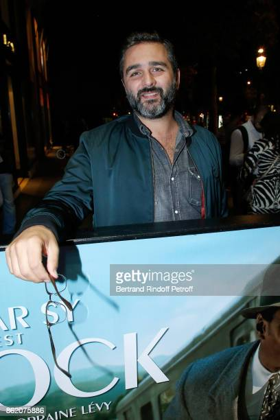 Director Olivier Nakache attends the 'Knock' Paris Premiere at Cinema UGC Normandie on October 16 2017 in Paris France