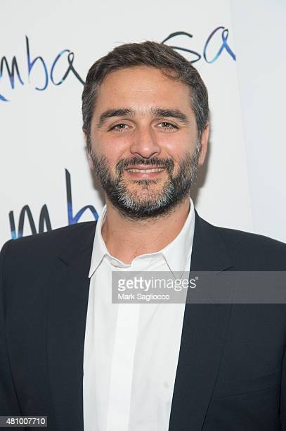 Director Olivier Nakache attends the 'Samba' New York Premiere at the Paris Theater on July 16 2015 in New York City