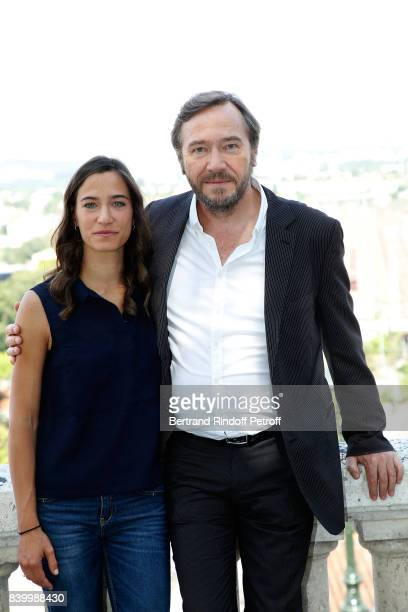 Director Olivier Rabourdin and guest attend the 10th Angouleme FrenchSpeaking Film Festival Day Five on August 26 2017 in Angouleme France