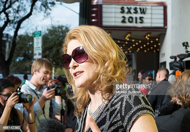 Director Ondi Timoner attends the premiere of 'BRAND A Second Coming' during the 2015 SXSW Music Film Interactive Festival at Paramount Theatre on...