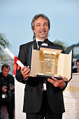 Director Pablo Giorgelli wins the Camera d'Or for his movie 'Las Acacias' at the photo call for 'Palme D'Or Winners' during the 64th Cannes...