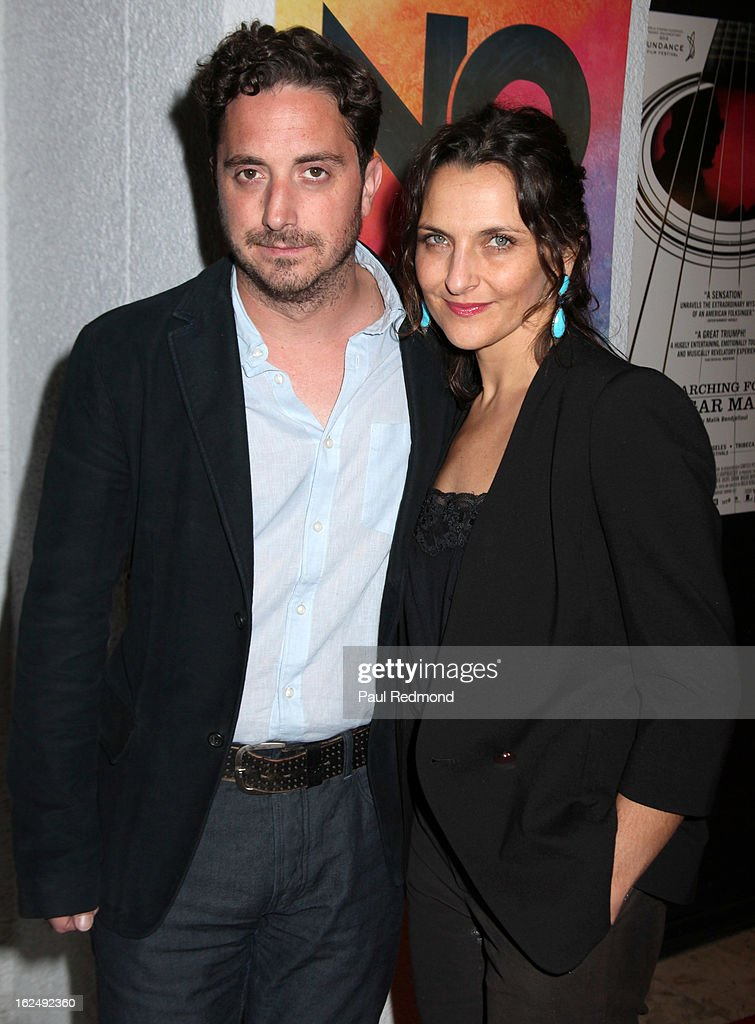 Director Pablo Larrain and actress Antonia Zegers attend Sony Pictures Classics Pre-Oscar Dinner at The London Hotel on February 23, 2013 in West Hollywood, California.