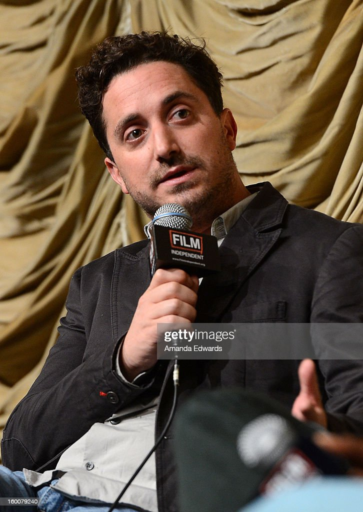 Director Pablo Larrain attends the Film Independent At LACMA free screening of 'No' co-presented by The New York Times Film Club at the Bing Theatre At LACMA on January 25, 2013 in Los Angeles, California.