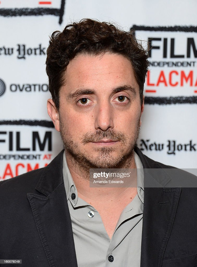 Director <a gi-track='captionPersonalityLinkClicked' href=/galleries/search?phrase=Pablo+Larrain&family=editorial&specificpeople=5351700 ng-click='$event.stopPropagation()'>Pablo Larrain</a> attends the Film Independent At LACMA free screening of 'No' co-presented by The New York Times Film Club at the Bing Theatre At LACMA on January 25, 2013 in Los Angeles, California.