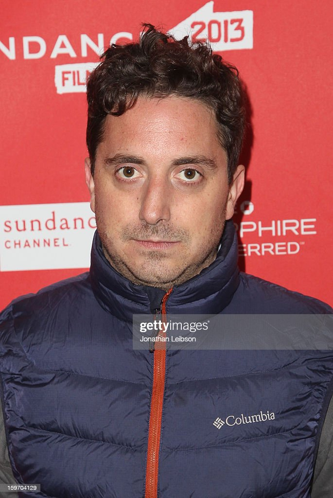 Director <a gi-track='captionPersonalityLinkClicked' href=/galleries/search?phrase=Pablo+Larrain&family=editorial&specificpeople=5351700 ng-click='$event.stopPropagation()'>Pablo Larrain</a> attends the 'No' premiere at The Marc Theatre during the 2013 Sundance Film Festival on January 18, 2013 in Park City, Utah.